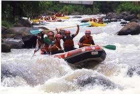 wisata rafting bandung